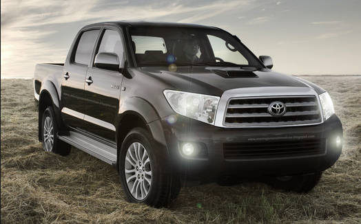 toyota hilux 2015 est por llegar. Black Bedroom Furniture Sets. Home Design Ideas